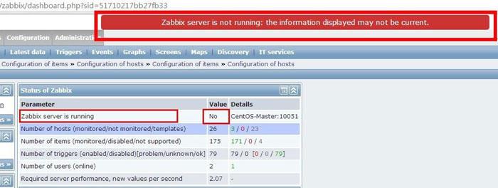 zabbix_error_not_runing